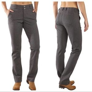 Title Nine Kate Pants in Charcoal Gray.